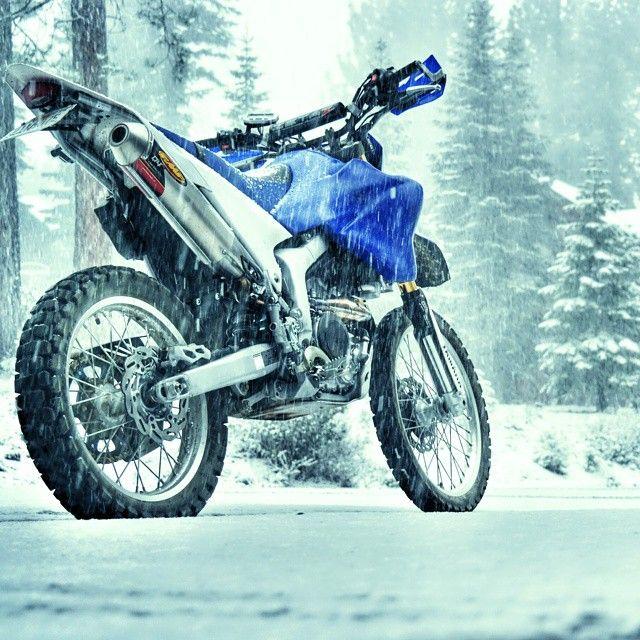 #Yamaha #WR250R snowtorcycle