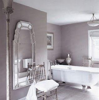 Superb Lilac Bathroom Grayish Purple Bathroom Grayish Bathroom Interior Design Ideas Oteneahmetsinanyavuzinfo