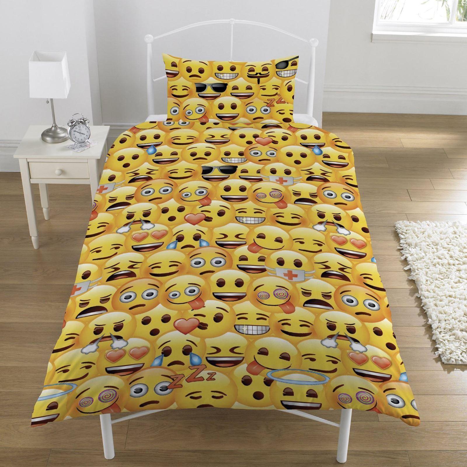 Emoji bedding sets u duvet covers home furniture u diy ebay