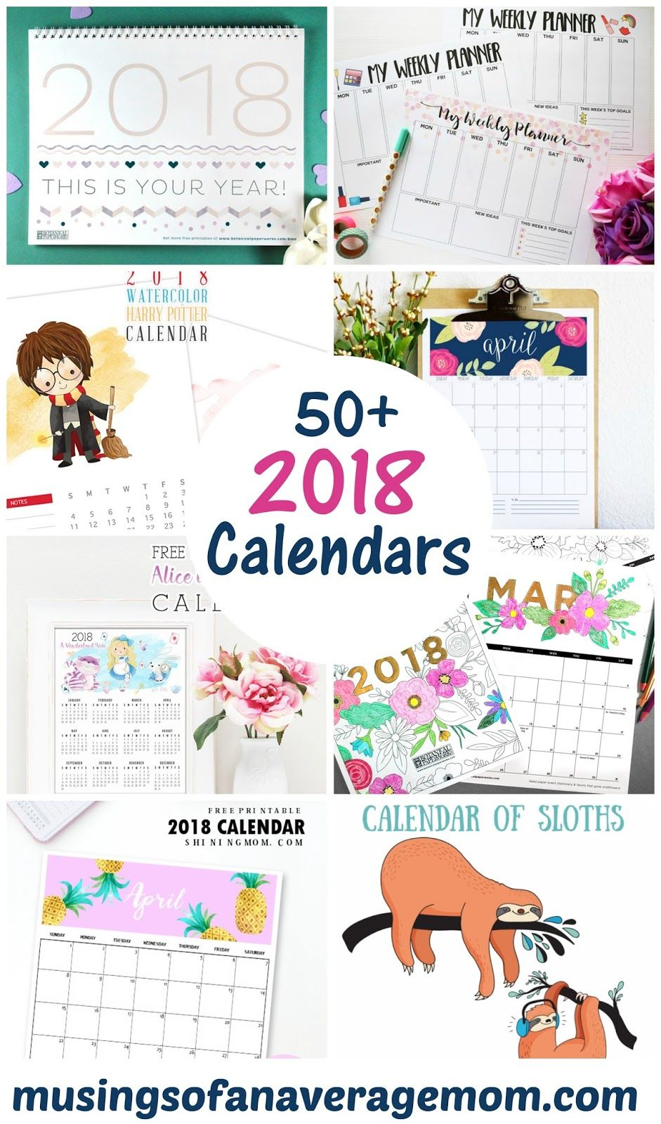 2018 monthly calendar printable calendars yearly calendar and yearly