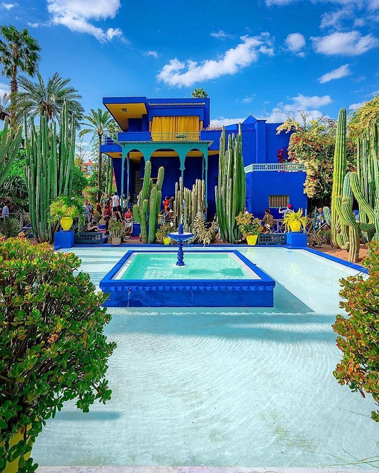 Be Careful When You Go To Majorelle You May Lose The Ability Of