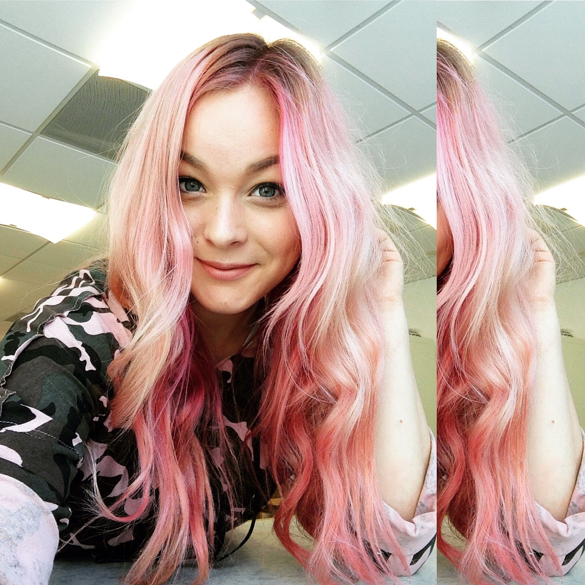Pink Hair by Blogger Georgina Hart.