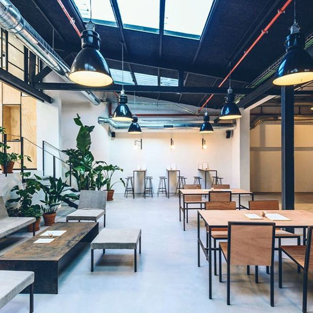 WERHAUS Barcelona concepstore with 3 dedicated spaces to
