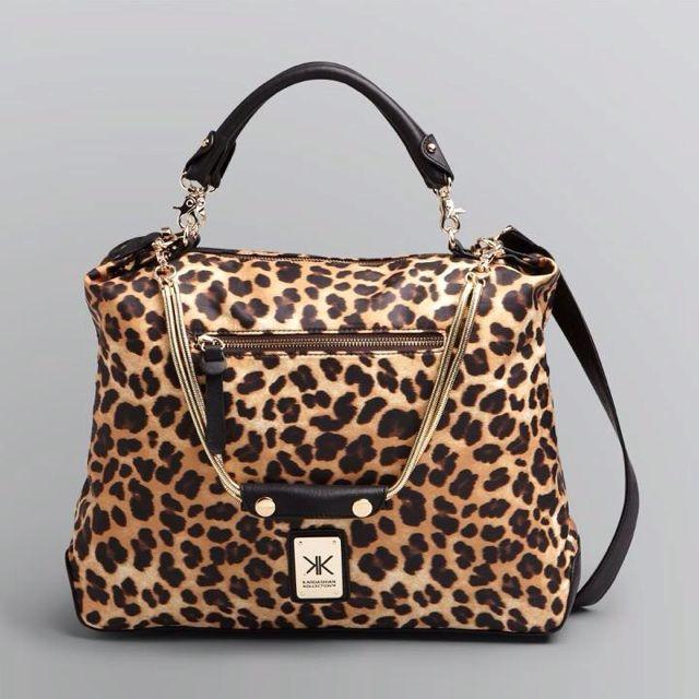 Kardashian Kollection Leopard Bag I