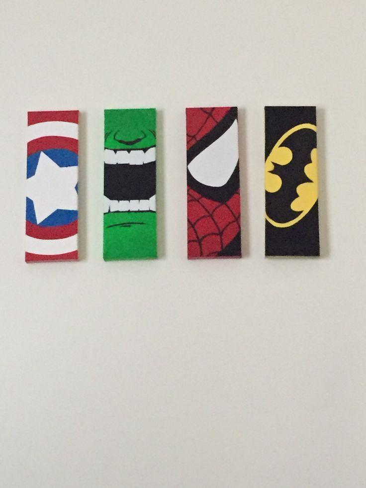 Superheld Leinwand Kunst  #kunst #leinwand #superheld #selbstgemachteleinwandkunst