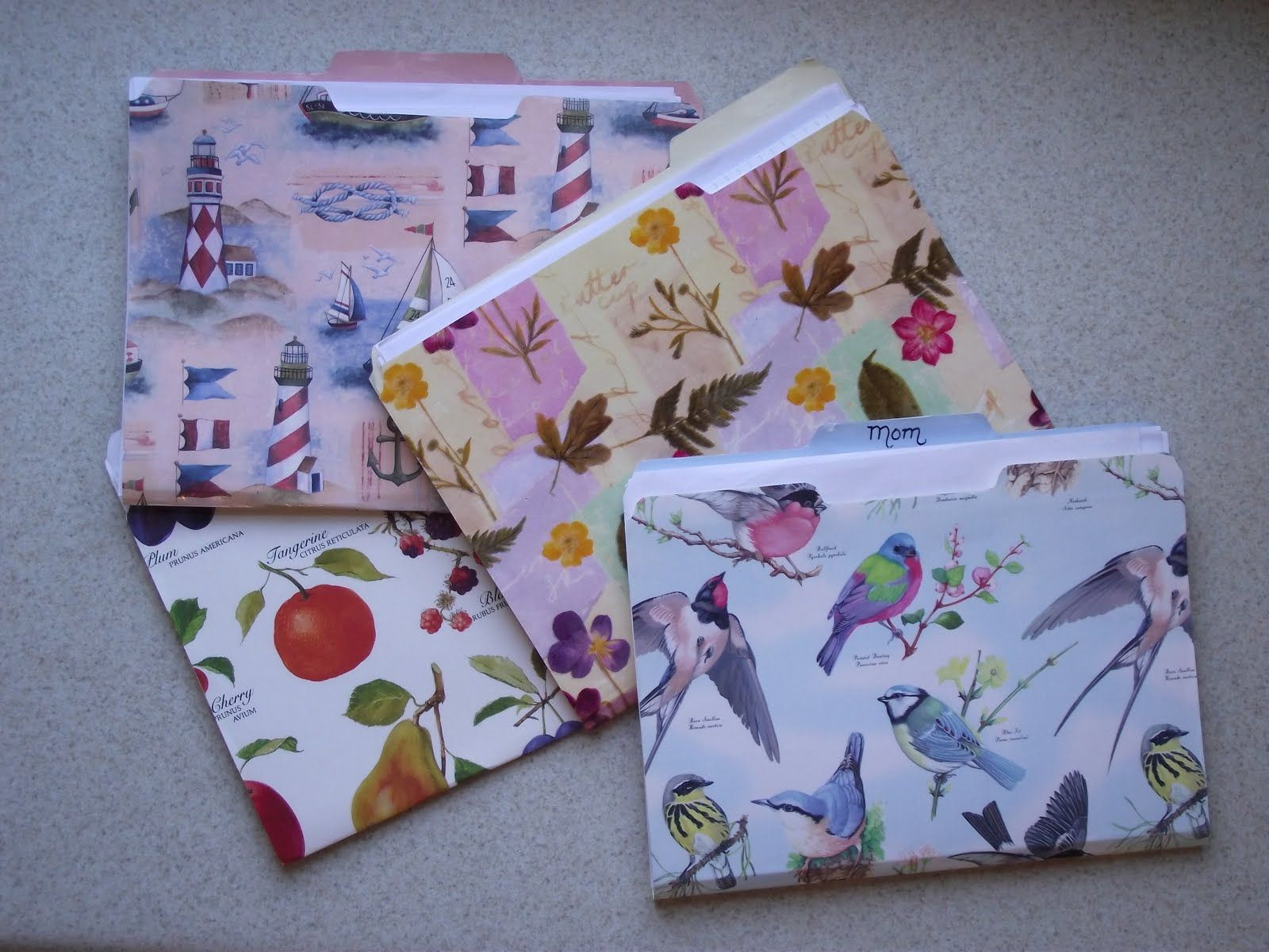 Renewed file folders file folder filing and recycled paper crafts craft jeuxipadfo Choice Image