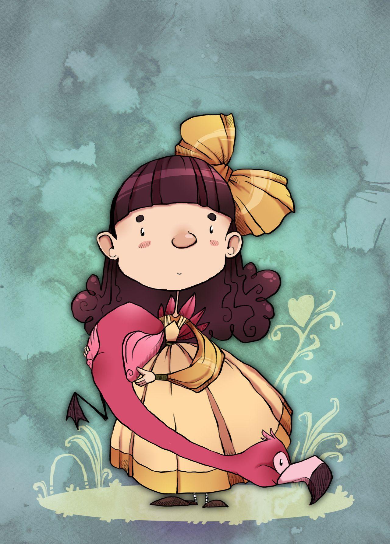 ZestyDoesThings Alice in wonderland theme, Spoopy, Pink cow