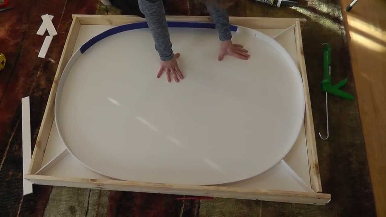 How To Make An Oval Concrete Cement Kitchen Table Diy Kitchen Table Concrete Diy Cement Table