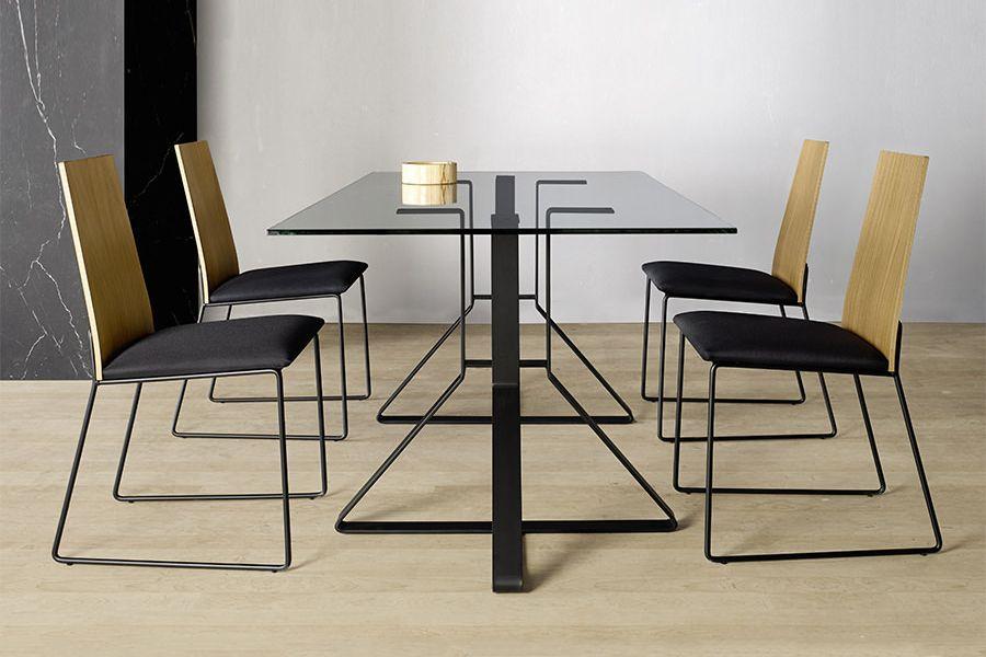 sillas comedor patas metalicas diseño
