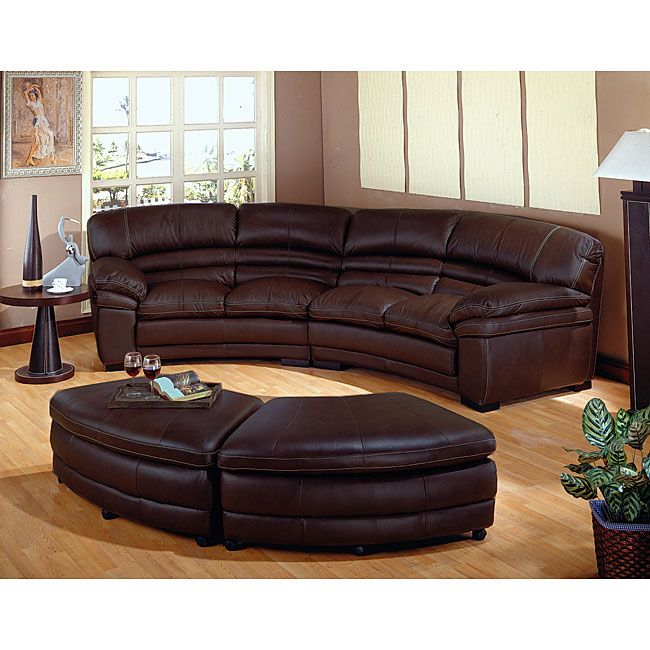 Martino Leather 2Piece Sectional Sofa Sofa and Apartment Sofa