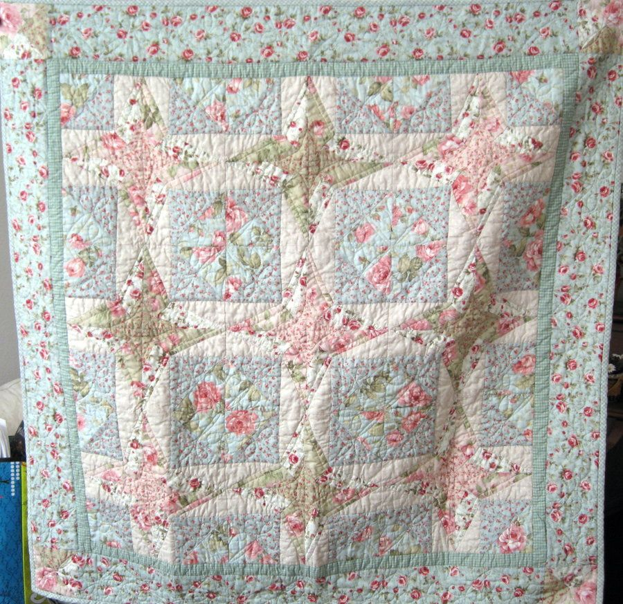 beautiful quilt for shabby chic decor everything quilty rh pinterest ca shabby chic quilting patterns shabby chic quilt tutorial