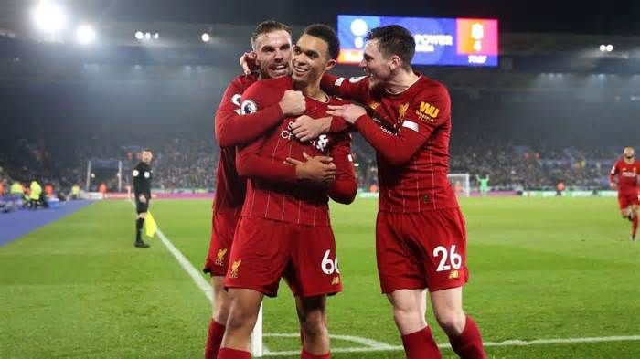 Liverpool Vs Leicester City Score First Place Reds Pad Premier League Lead With Emphatic Boxin Liverpool Vs Manchester United Sheffield United Premier League