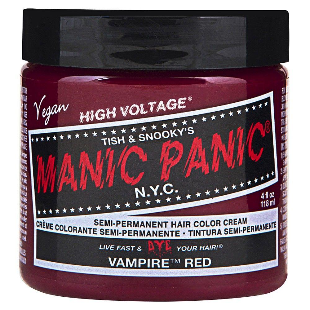 Manic Panic Vampire Red Semi Permanent Hair Dye Salon Services