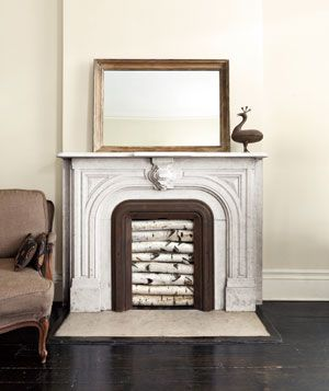 Dress Up An Unused Fireplace Unused Fireplace Fireplace Modern Design Empty Fireplace Ideas