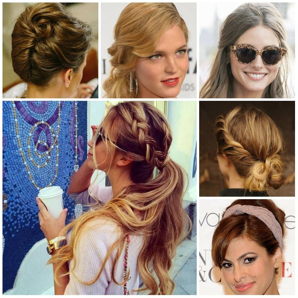 easy casual updo hairstyles for long hair women medium