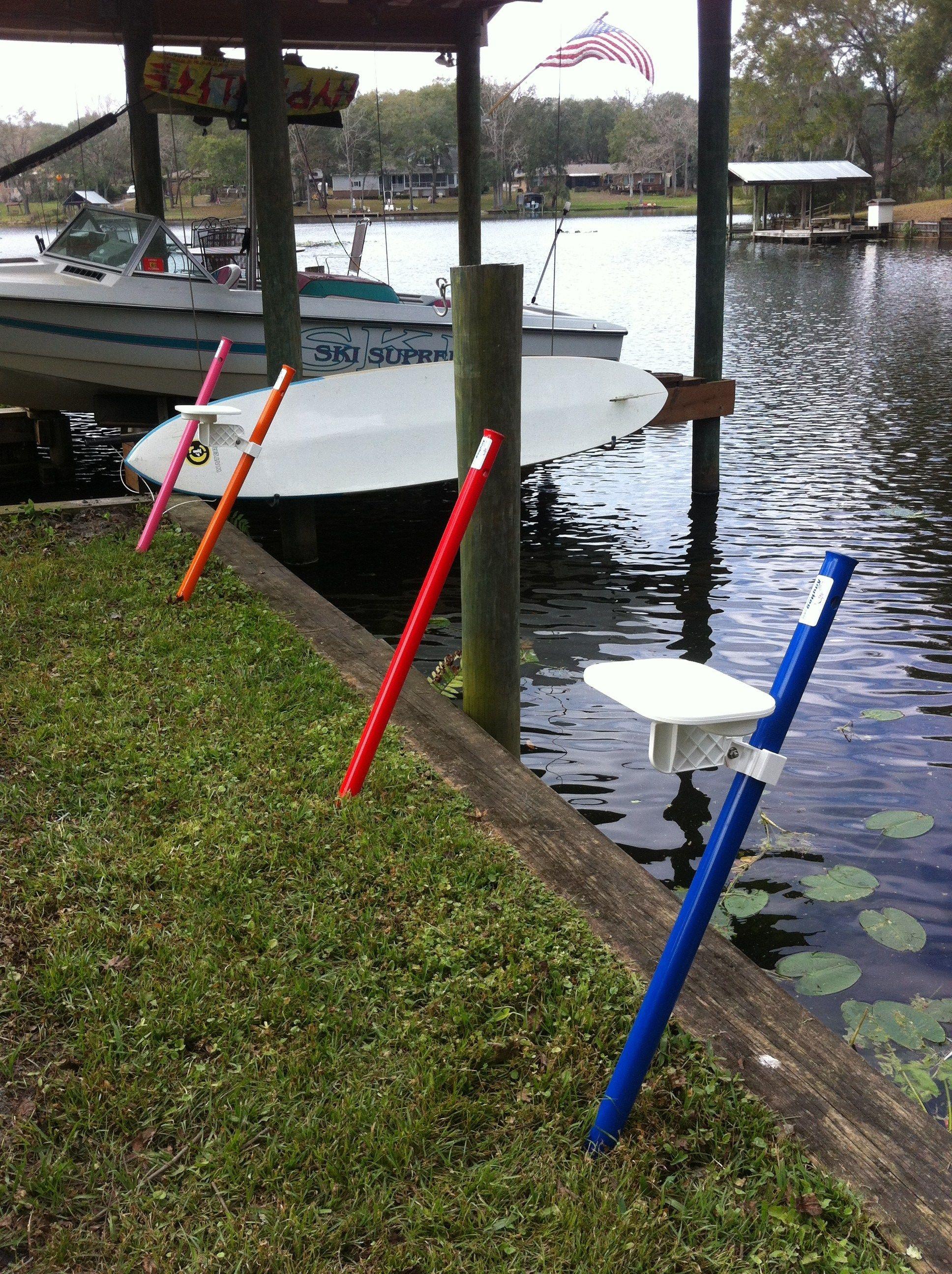 Big Rod Surf Beach Fishing Rod Holder   Fishing rod holder