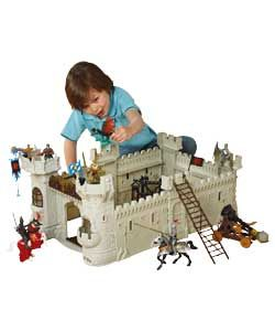 Chad Valley Knights Castle Playset Kids Only Toddler Bed Bed