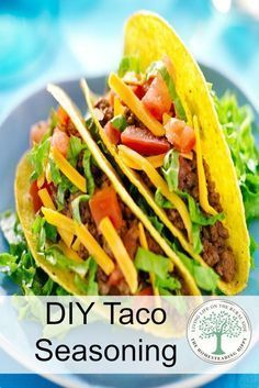 How to Make Homemade Taco Seasoning #diytacoseasoning One of the easiest seasoning blends for anyone to make...diy taco seasoning. So yummy and versatile!  It's not just for tacos! The Homesteading Hippy #diytacoseasoning How to Make Homemade Taco Seasoning #diytacoseasoning One of the easiest seasoning blends for anyone to make...diy taco seasoning. So yummy and versatile!  It's not just for tacos! The Homesteading Hippy #diytacoseasoning