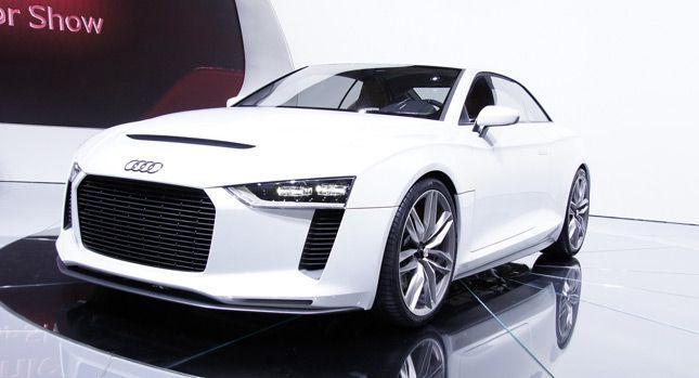Audi Reportedly Kills Quattro Sports Car In Favor Of An Evoquelike - Audi 4 door sports car
