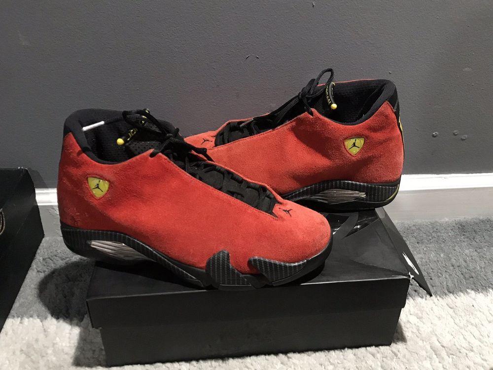 quality design 7fe8f 78729 Air Jordan Ferrari 14s #fashion #clothing #shoes ...