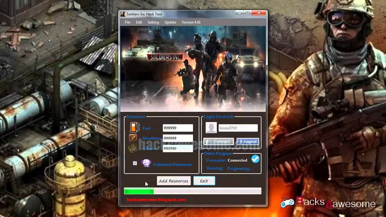 Soldiers Inc v3.1 Hack Tool gratuit telecharger