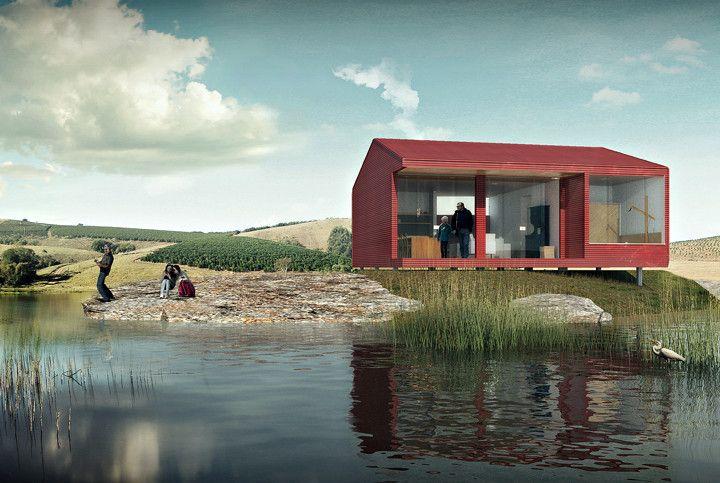 Casa Chassi: vencedor na categoria Profissionais do Prêmio bim.bon Senai 2015 | Arquitetura | Bernardo Horta e Pedro Haruf | bim.bon