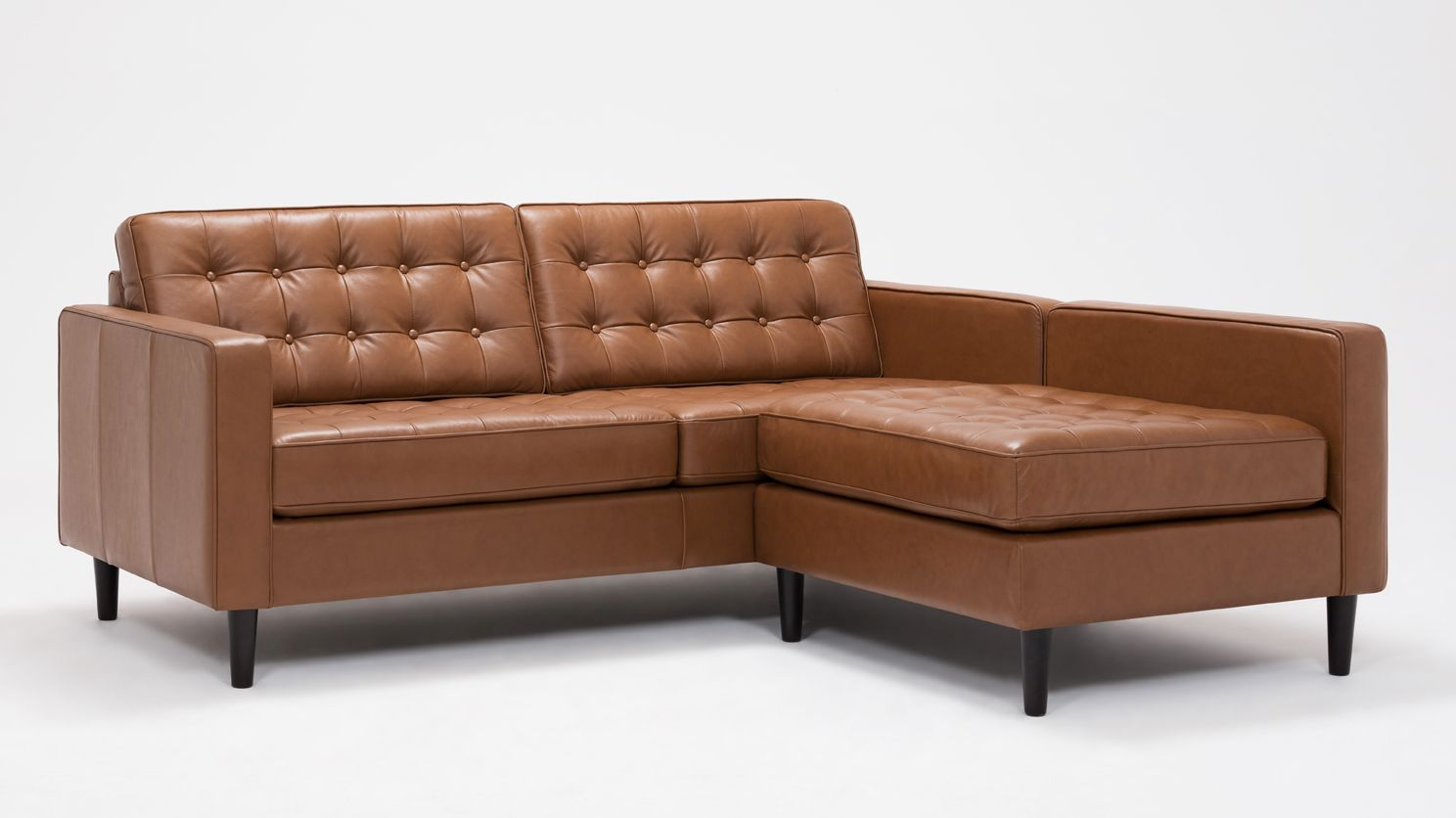 Leather Sectional Vancouver Eq3 Reverie Apartment 2 Piece Sectional Sofa With Chaise