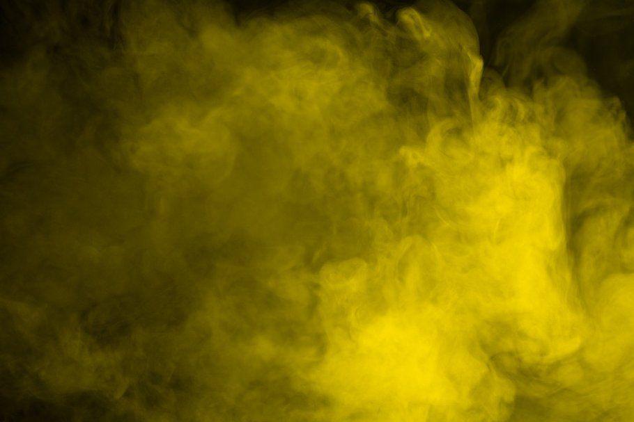 Abstract Yellow Smoke Hookah Yellow Abstract Smoke Textures