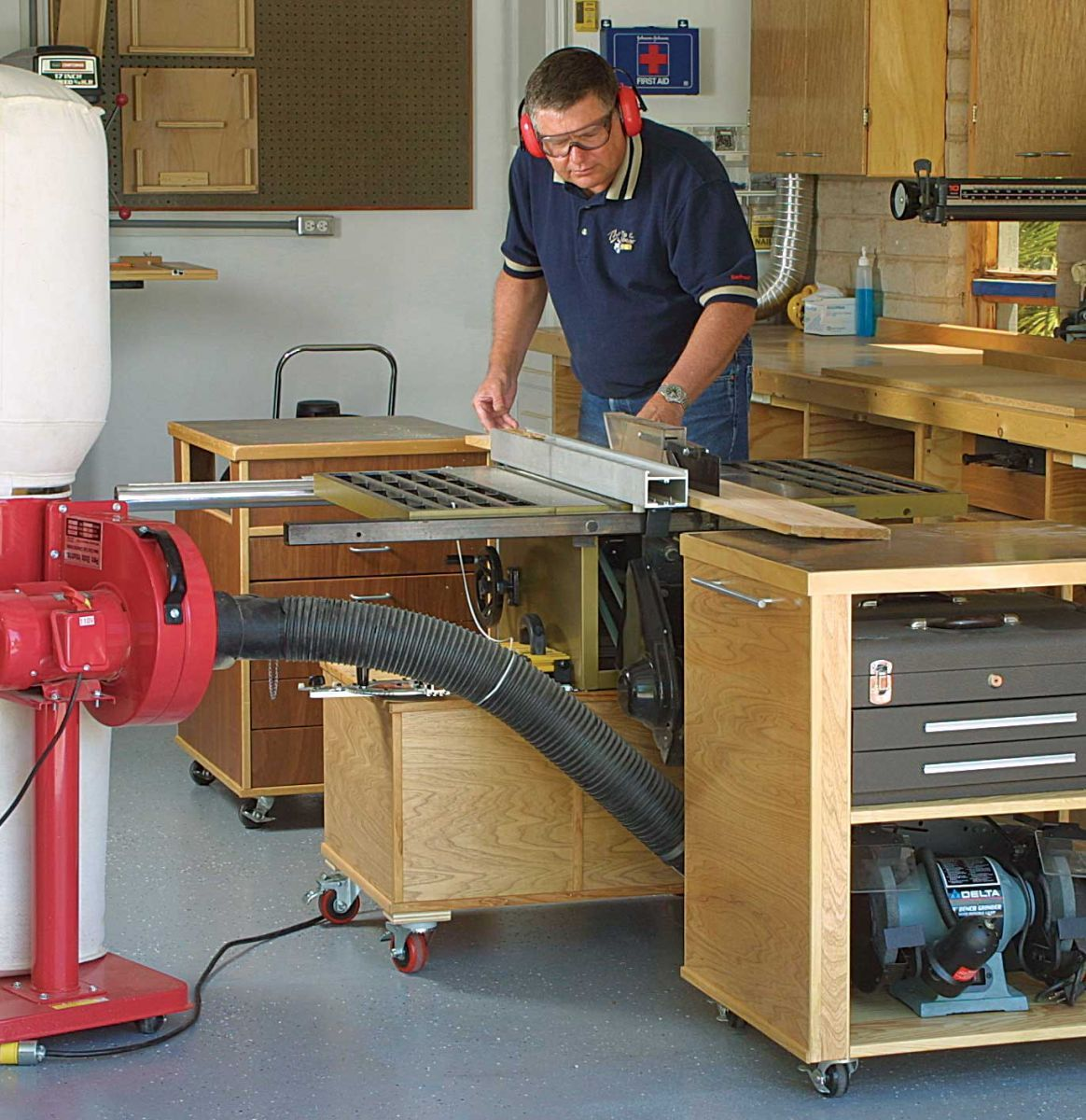 how to use a wood planer machine