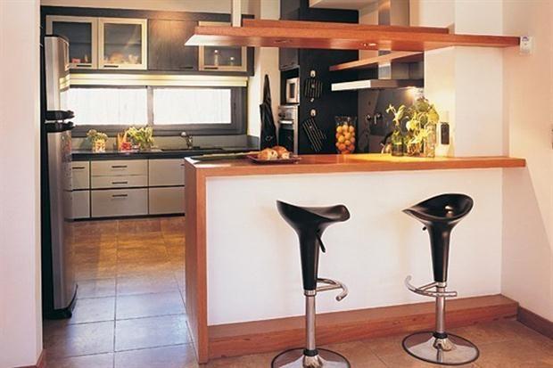 Barras: ideas y medidas para tu casa | Almacenamiento, Cocina ...