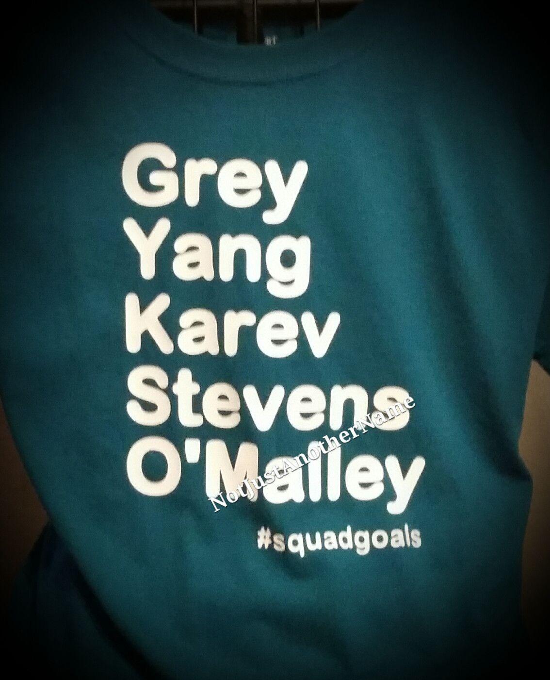 Squadgoals Greys Anatomy Shirt Grays Anatomy Anatomy And Short