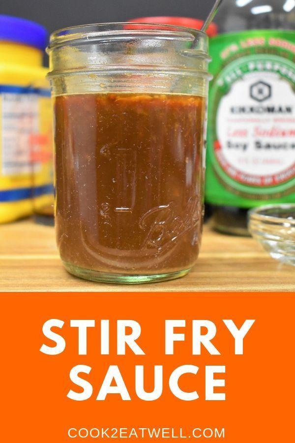 Stir Fry Sauce - Cook2eatwell