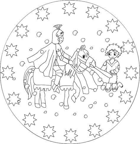 Mandala zum ausdrucken und ausmalen nh st mart n for Kindergottesdienst herbst