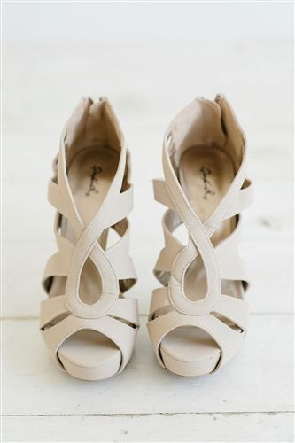 6fada6442da Light Cream Strappy Sandal Heels Summer Shoes