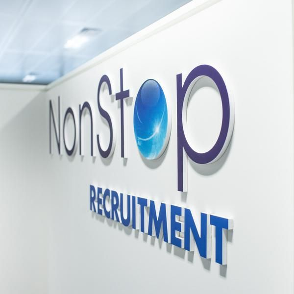 3D Logo Wall Sign Office Graphic
