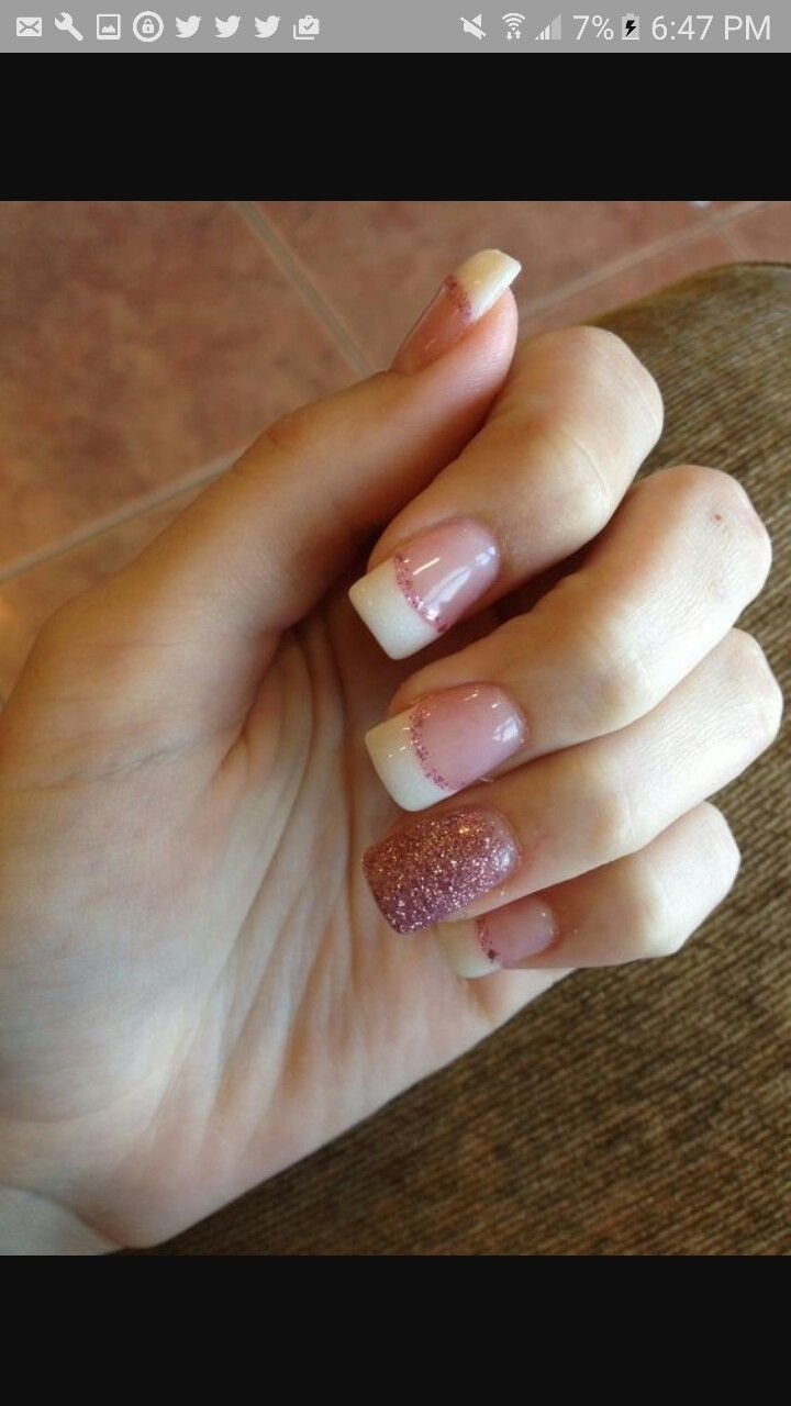 Pin by Mikah on Nails | Pinterest | Prom nails, French nails and Make up