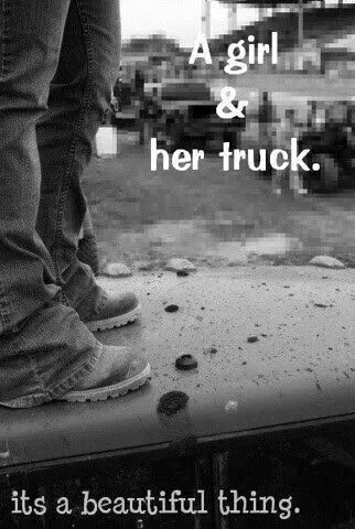 A girl and her truck | Silly Boys Trucks Are For Girls | Trucks