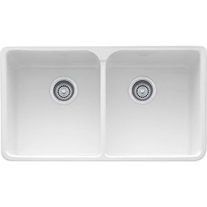 Manor House Mhk720 35 Fireclay White Sinks Sink Farmhouse
