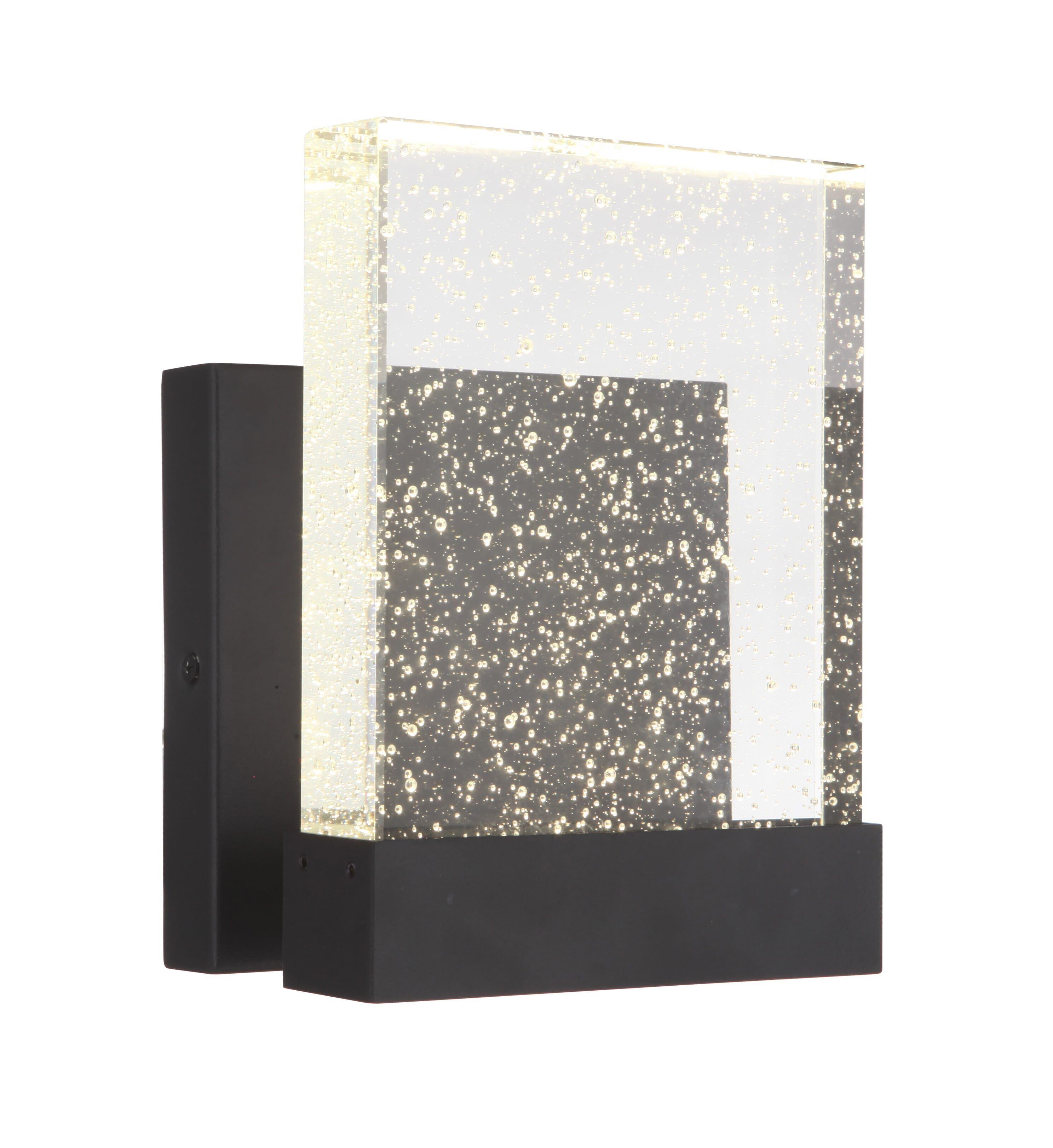 "Photo of Craftmade Aria Ii 8 ""outdoor wall light in textured matt black"