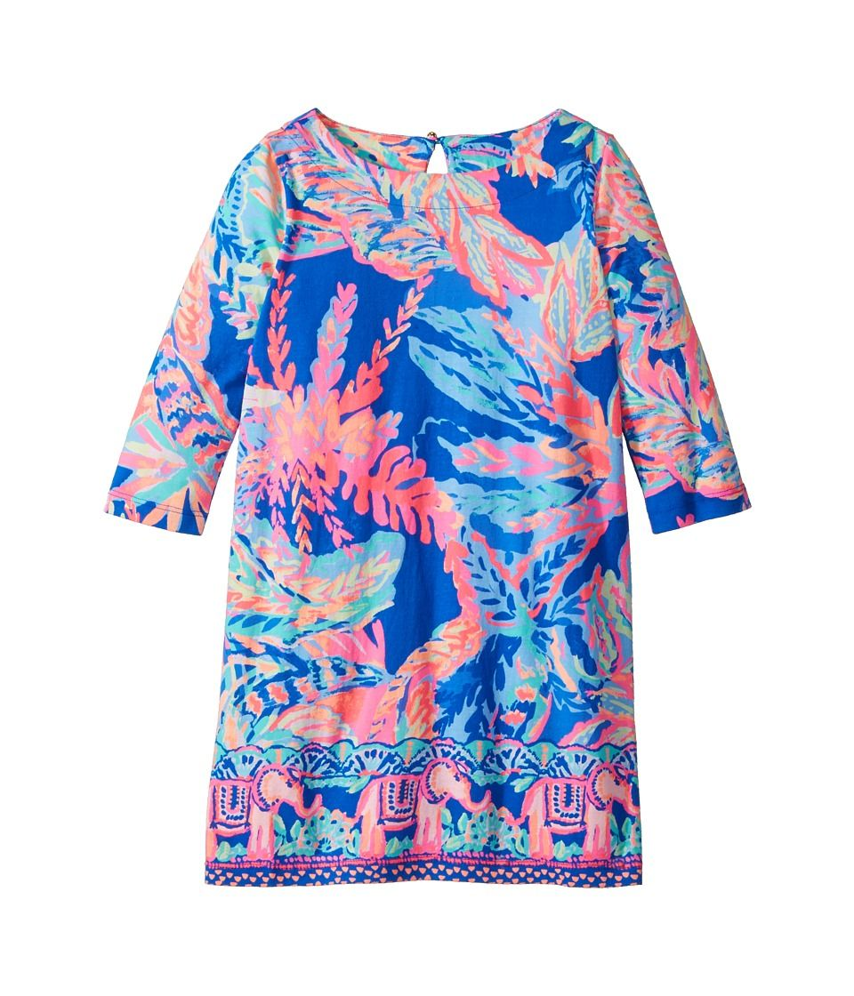 77dc8e7de Lilly Pulitzer Kids Bay Dress (Toddler Little Kids Big Kids) Girl s ...