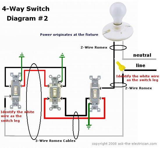 4 wire light switch wiring diagram light switch wiring diagram rh parsplus co 4-pole transfer switch wiring diagram 4-pole transfer switch wiring diagram