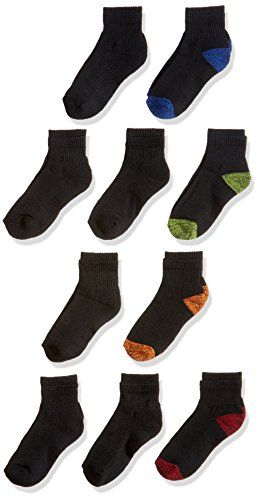 Fruit Of The Loom Big Boys 10 Pack Ankle Socks Click Here For More Details Ankle Socks Kids Fashion Clothes Socks