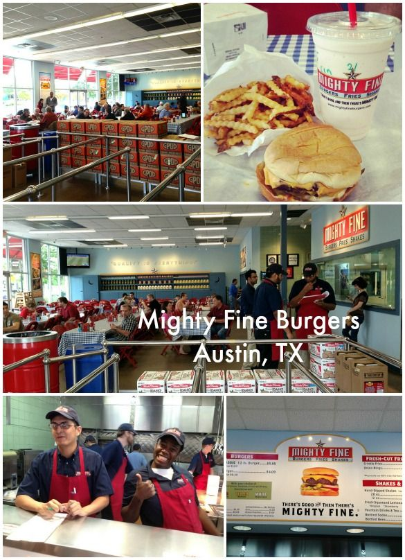 Family Friendly Places To Eat In Austin Tx Mighty Fine Burgers