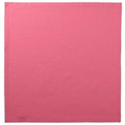 Plain Flamingo Love Hot Pink napkins cloth | Zazzle.com