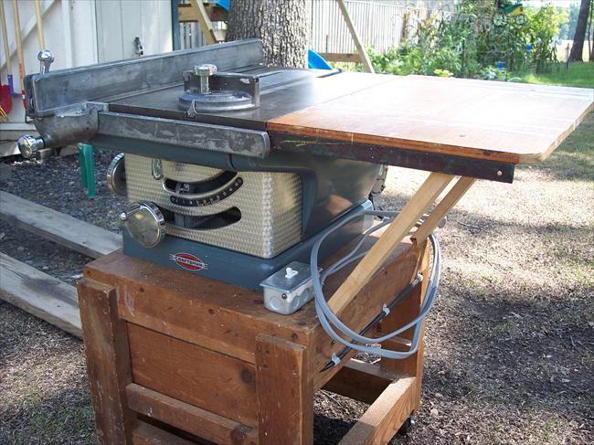 Vintage Tablesaw Workshop In 2019 Vintage Tools