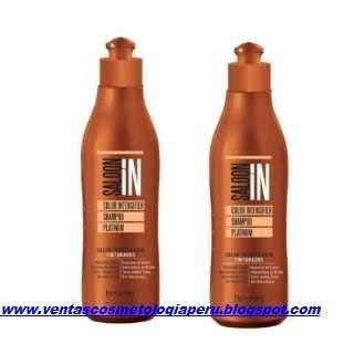 Shampoo Saloon In Profesional Sin Sal Tratamiento Acondincionador