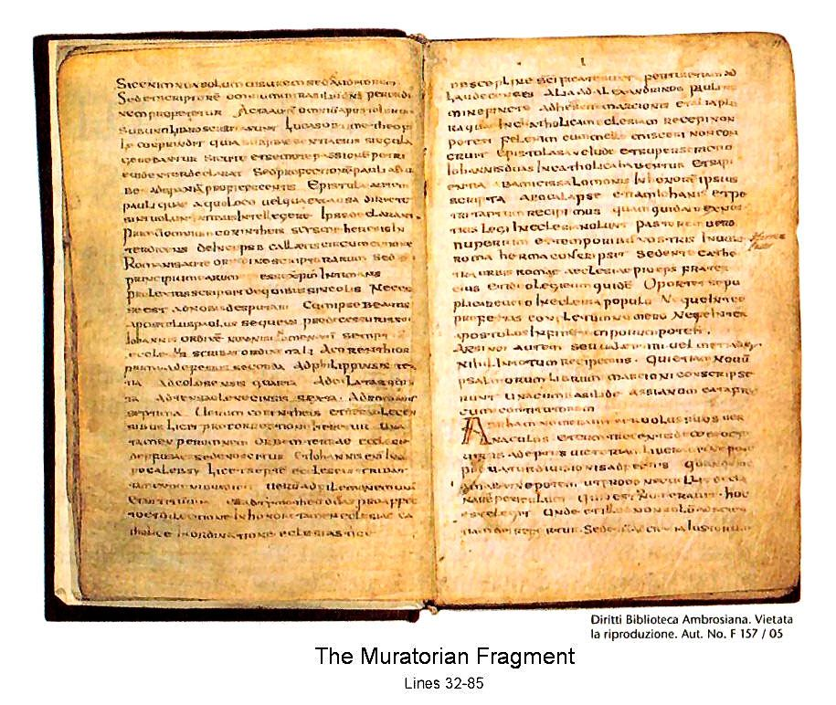 The Development of the Canon of the New Testament