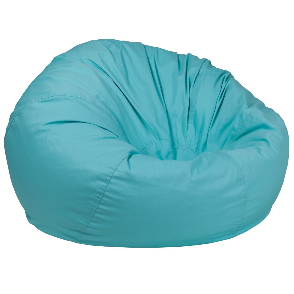 Flash Furniture Oversized Bean Bag Chair Multiple Colors Walmart Com Bean Bag Chair Green Bean Bags Bean Bag Chair Kids