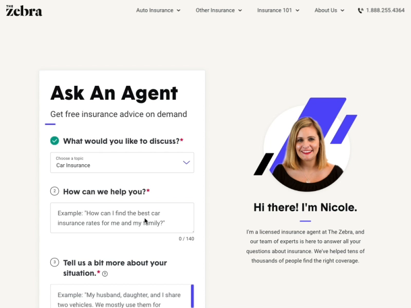 New Designs For Ask An Agent A Help Center For Getting Expert
