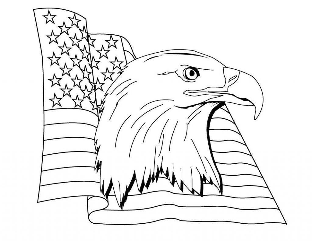 Flag Day Coloring Pages American Flag Coloring Page Flag